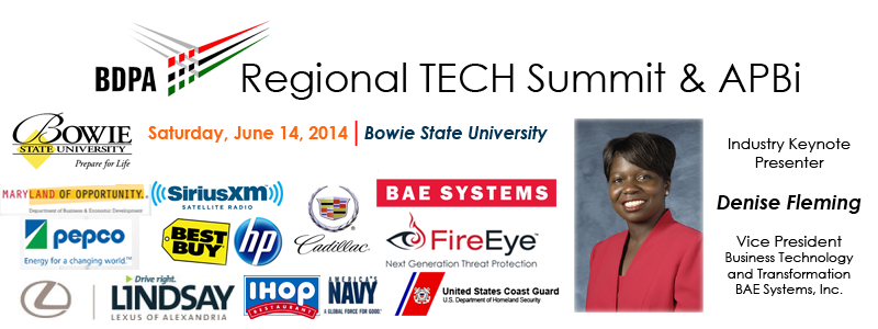 Regional TECH Summit @ Bowie State University