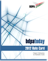 Rate card for FY 2012 newsletters.