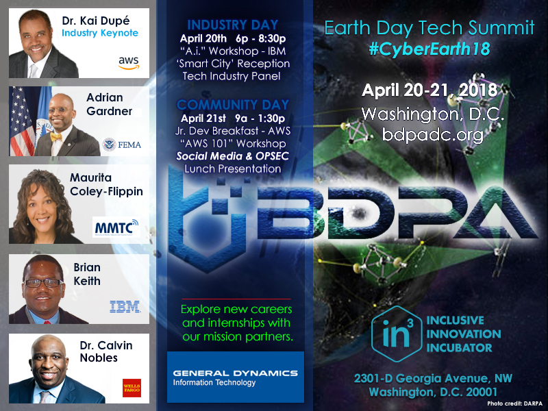 Earth Day Tech Summit | #CyberEarth18